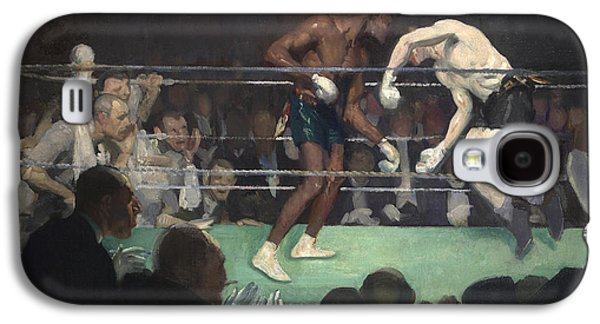 Boxing Match Galaxy S4 Case by George Luks