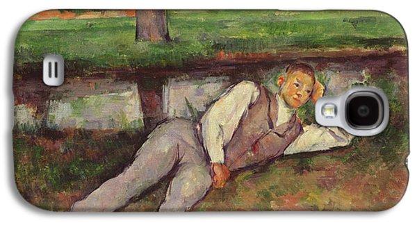 Boy Resting Galaxy S4 Case