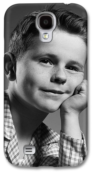 Boy With Freckles, C.1950s Galaxy S4 Case by H. Armstrong Roberts/ClassicStock