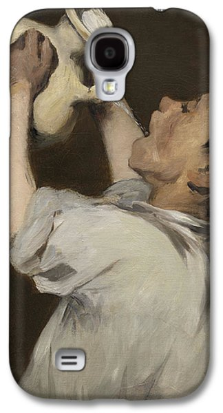 Boy With Pitcher Galaxy S4 Case by Edouard Manet