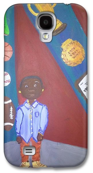 Boy Yes You Can Galaxy S4 Case by Autoya Vance-Liggins