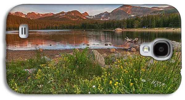Galaxy S4 Case featuring the photograph Brainard Lake by Gary Lengyel