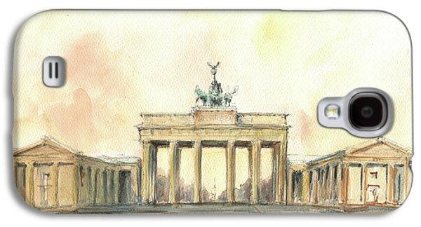Berlin Galaxy S4 Case - Brandenburger Tor, Berlin by Juan Bosco