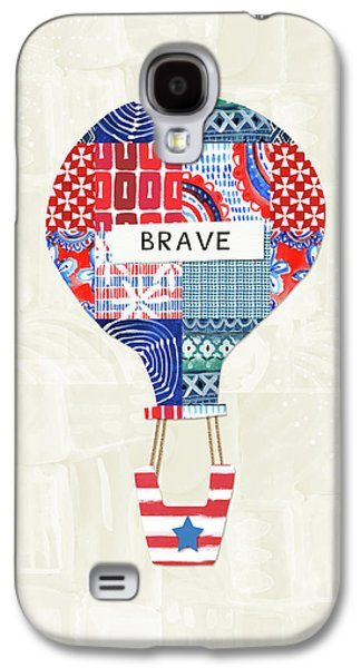 Brave Balloon- Art By Linda Woods Galaxy S4 Case