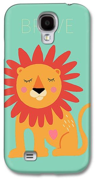 Brave Galaxy S4 Case by Nicole Wilson