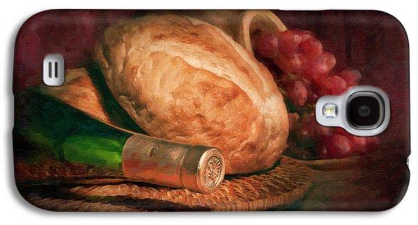 Bread And Wine Galaxy S4 Case by Tom Mc Nemar