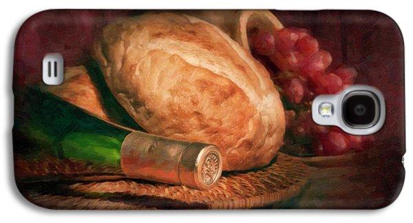Bread And Wine Galaxy S4 Case