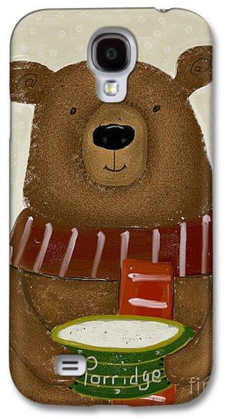 Breakfast For Bears Galaxy S4 Case by Bri B