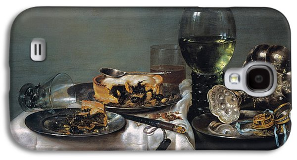 Breakfast Table With Blackberry Pie Galaxy S4 Case by Willem Claeszoon Heda