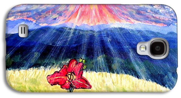 Breakthrough Of Hope Galaxy S4 Case by Kimberlee Baxter