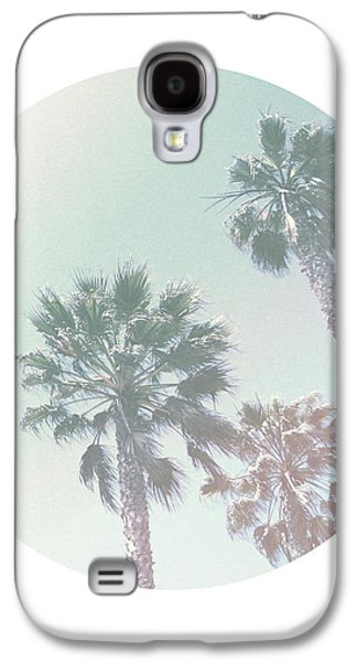 Breezy Palm Trees- Art By Linda Woods Galaxy S4 Case by Linda Woods
