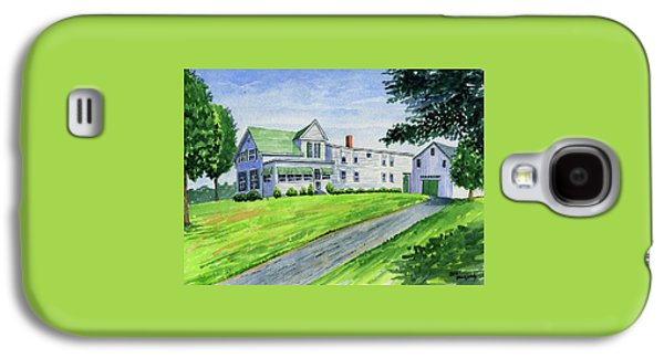 Brewer Family Farm, Augusta Maine Galaxy S4 Case by Jeff Blazejovsky