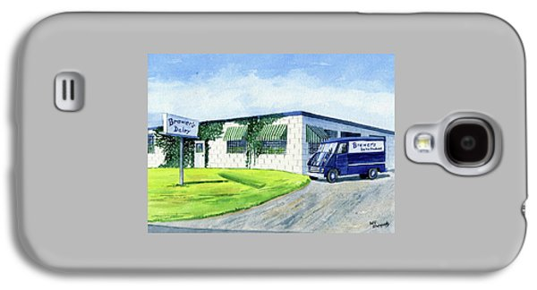 Brewer's Dairy Store, Augusta Maine, Circa 1960 Galaxy S4 Case by Jeff Blazejovsky