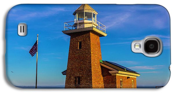 Brick Lighthouse At Point Pinos Galaxy S4 Case by Garry Gay