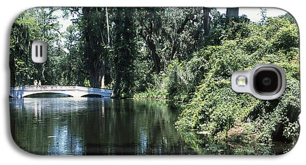 Bridge Across A Swamp, Magnolia Galaxy S4 Case by Panoramic Images