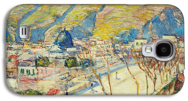 Bridge At Posilippo At Naples Galaxy S4 Case by Childe Hassam