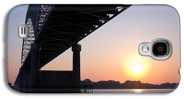 Bridge Over Mississippi River Galaxy S4 Case