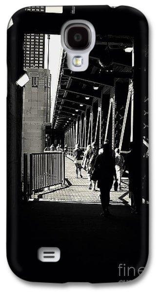 Bridge - Lower Lakeshore Drive At Navy Pier Chicago. Galaxy S4 Case
