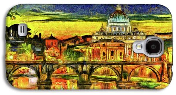 Bridge Of Angels Evening Galaxy S4 Case by Leonardo Digenio