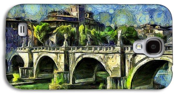 Bridge Of Angels Galaxy S4 Case by Leonardo Digenio