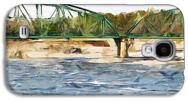 Bridge Over Androscoggin River Galaxy S4 Case by James Hendrix