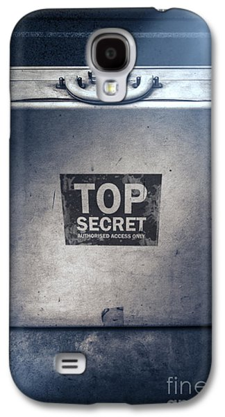Brief Case Of Top Secret Espionage Galaxy S4 Case
