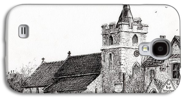 Brighstone Church Galaxy S4 Case by Vincent Alexander Booth