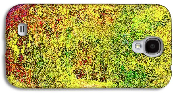 Bright Afternoon Pathway - Trail In Santa Monica Mountains Galaxy S4 Case by Joel Bruce Wallach