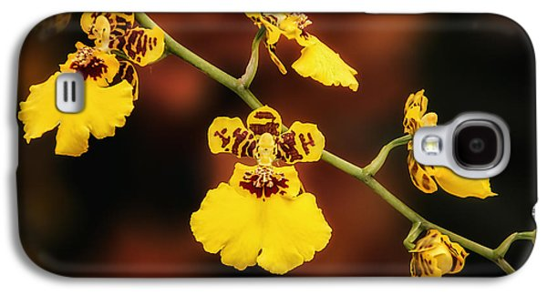 Orchid Galaxy S4 Case - Bright And Beautiful Orchids by Tom Mc Nemar