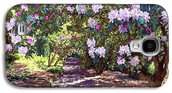 Los Angeles Galaxy S4 Case - Bright And Beautiful Spring Blossom by Jane Small