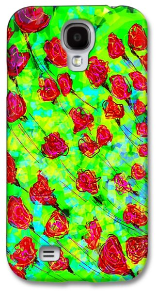 Bright Galaxy S4 Case by Khushboo N