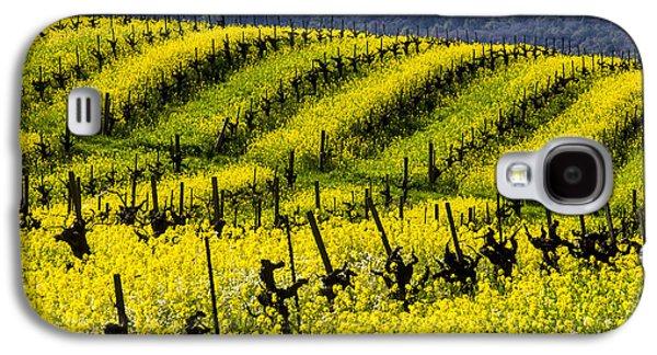 Bright Mustard Grass Galaxy S4 Case by Garry Gay