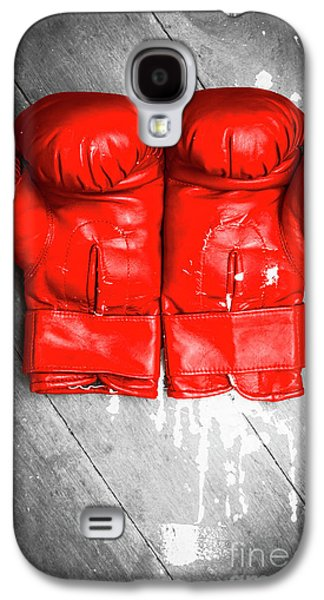 Bright Red Boxing Gloves Galaxy S4 Case