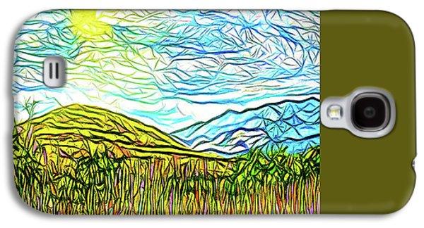 Bright Sky Summer - Field In Boulder County Colorado Galaxy S4 Case by Joel Bruce Wallach