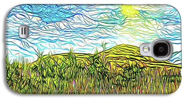 Bright Sky Summer - Field In Boulder County Colorado Galaxy S4 Case