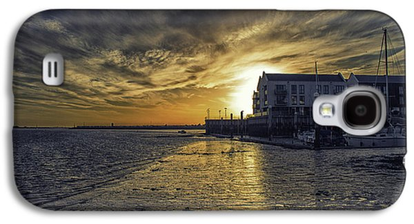 Brightlingsea Harbour Galaxy S4 Case by Martin Newman