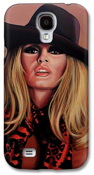 Brigitte Bardot Painting 1 Galaxy S4 Case