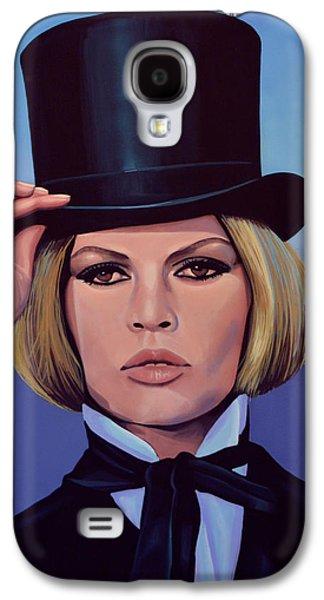 Brigitte Bardot Painting 2 Galaxy S4 Case