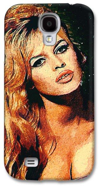 Brigitte Bardot Galaxy S4 Case by Taylan Apukovska