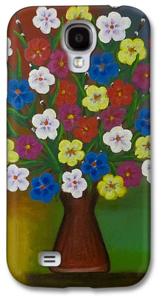 Brilliant Bouquet Galaxy S4 Case by Teresa Wing