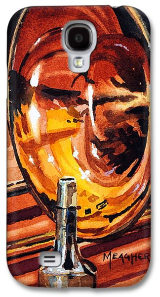 Trombone Galaxy S4 Case - Brilliant Brass by Spencer Meagher