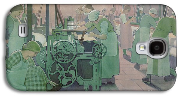 British Industries - Cotton Galaxy S4 Case by Frederick Cayley Robinson
