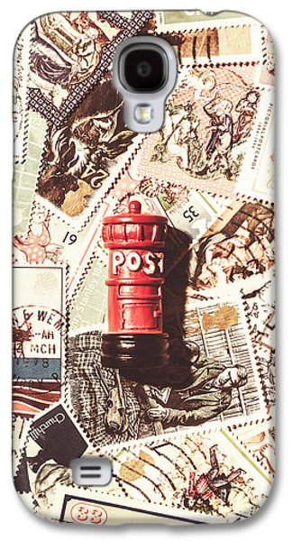 British Post Box Galaxy S4 Case by Jorgo Photography - Wall Art Gallery