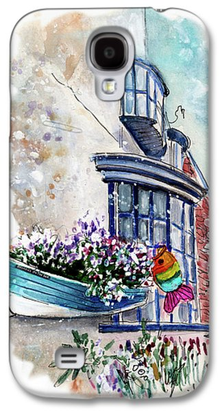Broadies By The Sea In Staithes Galaxy S4 Case