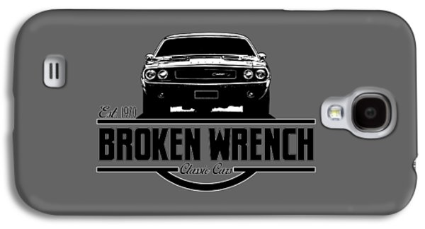 Broken Wrench Challenger Galaxy S4 Case by Paul Kuras