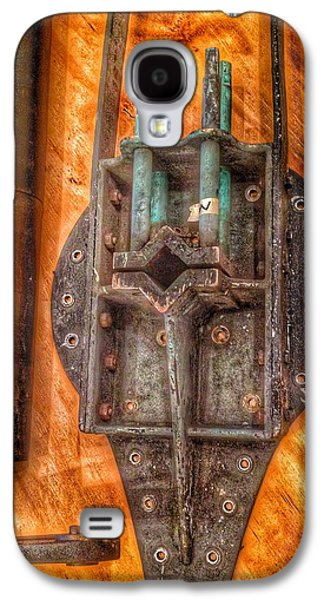 Bromo Seltzer Tower's 1911 Seth Thomas Clock Mechanism Abstract #4 Galaxy S4 Case