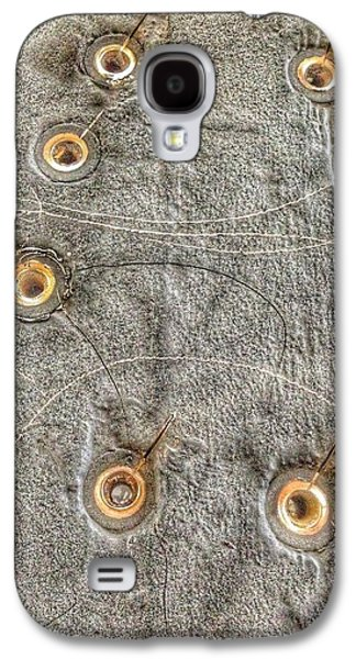 Bromo Seltzer Tower's 1911 Seth Thomas Clock Mechanism Abstract #1 Galaxy S4 Case by Marianna Mills