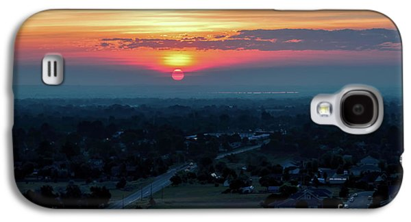 Bronco Sunsrise Galaxy S4 Case by Jon Burch Photography