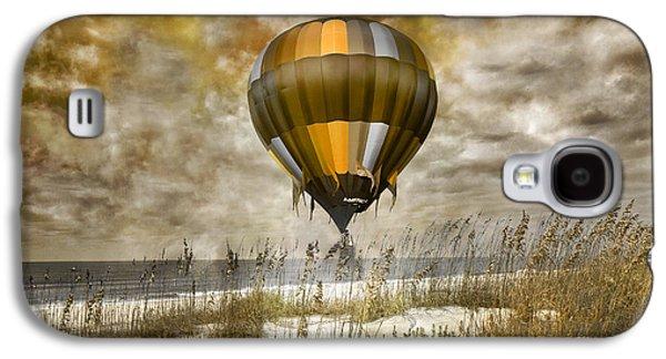 Bronze Beach Ballooning Galaxy S4 Case by Betsy Knapp
