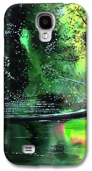 Brook Galaxy S4 Case by Anil Nene